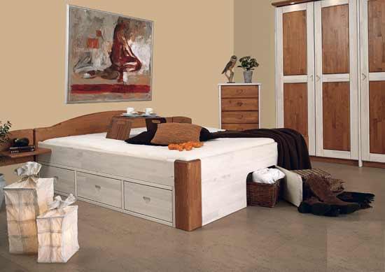 schlaf studio helm betten nachttisch kleiderschrank alles aus massivholz. Black Bedroom Furniture Sets. Home Design Ideas